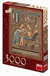 Egyptský papyrus - puzzle 3000 dílků