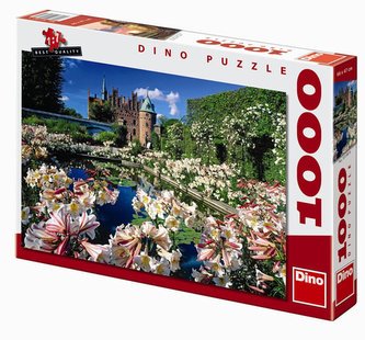 Hrad Egeskov - puzzle 1000 dílků