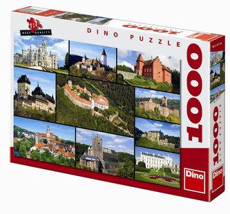 Hrady a zámky - puzzle 1000 dílků