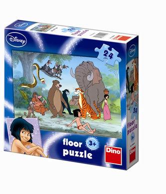 Kniha Džunglí - Maxi puzzle 24 dílků