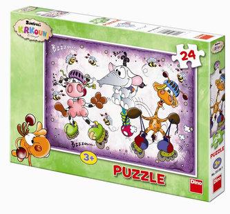 Krkouni - puzzle 24 dílků - neuveden