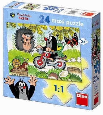 Krteček - Maxi puzzle 24 dílků