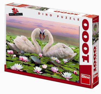 Labutě - puzzle 1000 dílků