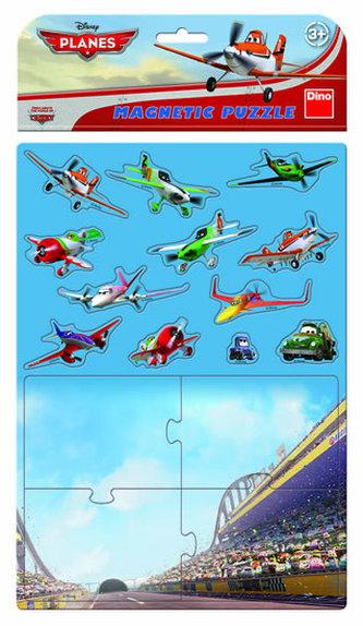 Letadla - Magnetické puzzle