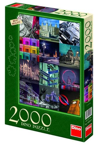 Londýn - puzzle 2000 dílků