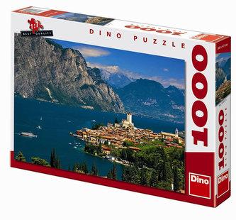 Malcesine - puzzle 1000 dílků