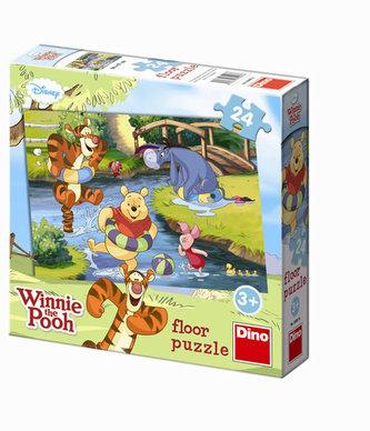 Medvídek Pú u vody - Maxi puzzle 24 dílků