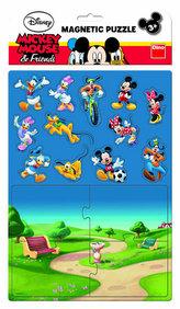 Mickeyho Klubík - Magnetické puzzle
