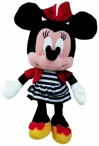 Minnie s proužky - Plyšová hračka 25 cm