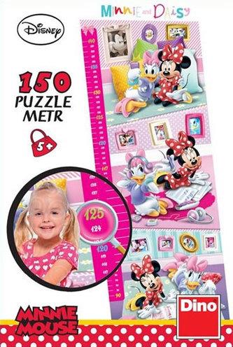 Minnie: Dětský metr - puzzle Panoramic 150 dílků