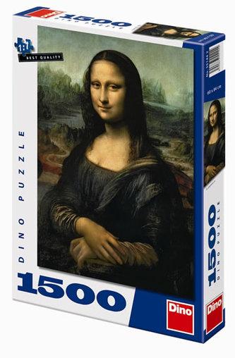 Mona Lisa - puzzle 1500 dílků
