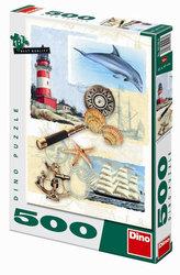 Námořní nostalgie - puzzle 500 dílků