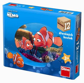 Nemo - obrázkové kostky 12 ks