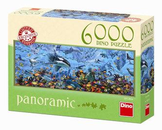 Podmořská fantazie - puzzle panoramic 6000 dílků