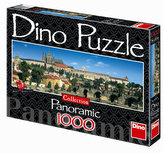 Pražský Hrad - puzzle Panoramic 1000 dílků
