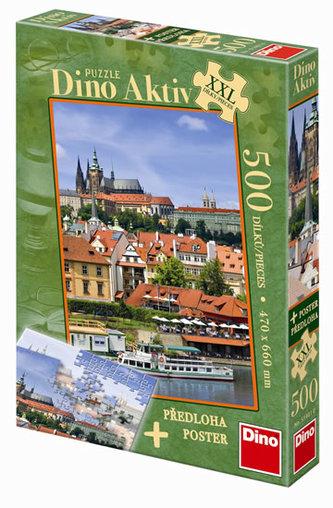 Pražský Hrad - puzzle XXL 500 dílků