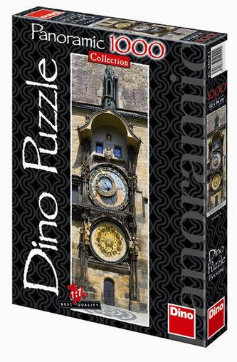 Pražský orloj - puzzle Panoramic 1000 dílků