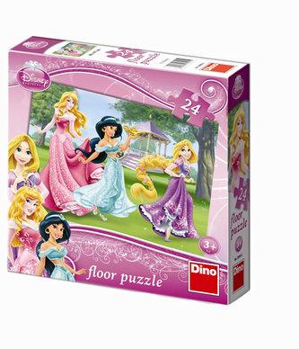 Princezny - Maxi puzzle 24 dílků