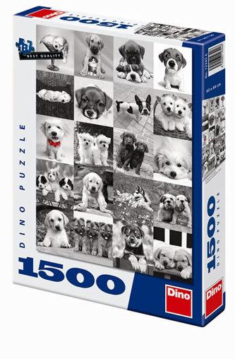 Psi - puzzle 1500 dílků