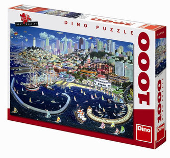 San Franciso - puzzle 1000 dílků