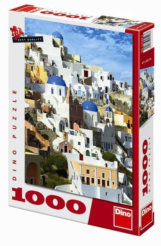 Santorini - puzzle 1000 dílků