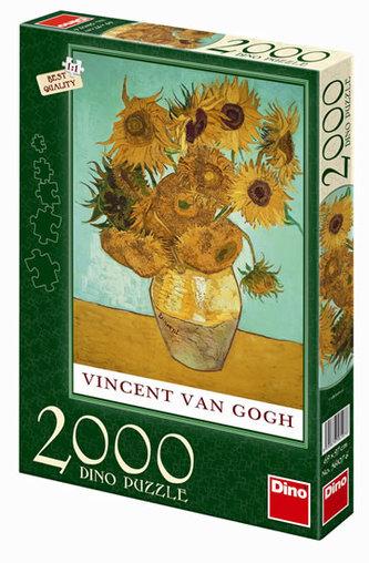 Slunečnice - puzzle 2000 dílků