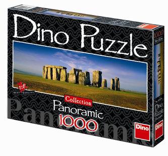 Stonehenge - puzzle Panoramic 1000 dílků