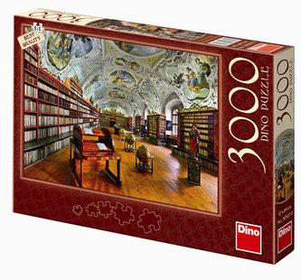 Teologický sál - Strahovská knihovna - puzzle 3000 dílků