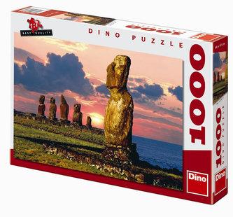 Velikonoční ostrovy - puzzle 1000 dílků