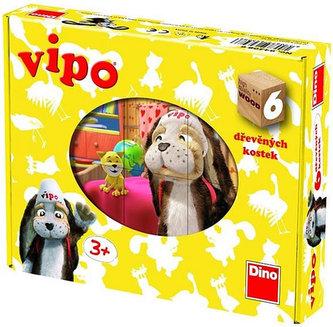 Vipo - obrázkové kostky - 6 kostek