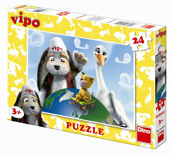 Vipův svět - puzzle 24 dílků