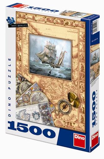 Zámořské objevy - puzzle 1500 dílků
