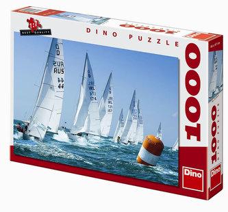 Závodní plachetnice - puzzle 1000 dílků