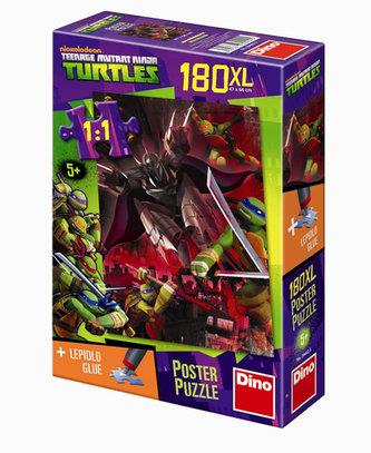 Želvy Ninja - puzzle Poster XL 180 dílků