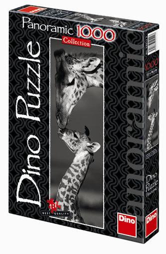 Žirafy - puzzle Panoramic 1000 dílků