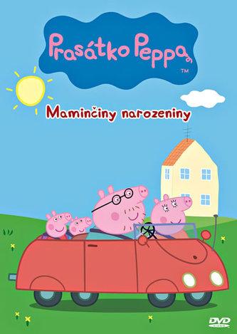 Prasátko Peppa 2 - Maminčiny narozeniny - DVD - papírová pošetka