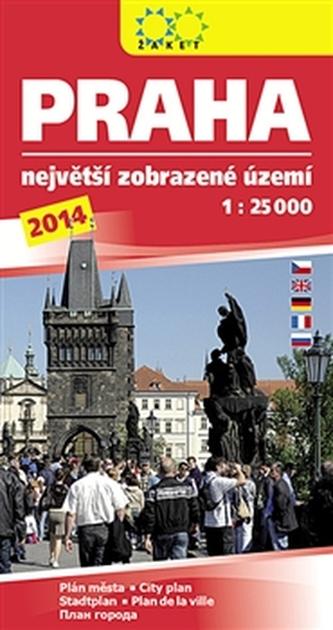 Praha největší zobrazené území 2014