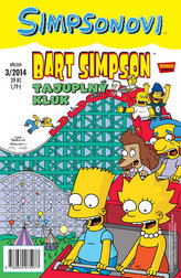 Simpsonovi - Bart Simpson 3/2014 - Tajuplný kluk