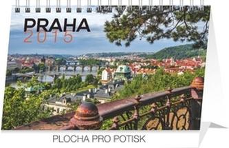 Kalendář 2015 - Praha - stolní týdenní