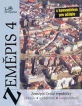 Zeměpis 4 Česká republika s kometářem pro učitele