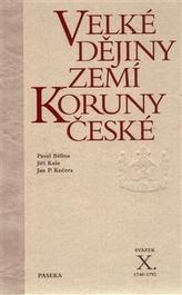 Velké dějiny zemí Koruny české X.