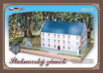 Šluknovský zámek - Stavebnice papírového modelu