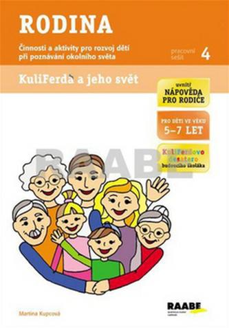 Rodina - Pracovní sešit 4 - Kupcová Martina