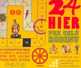 24 hier pre celú rodinu n.v.Fortuna Libri SK, s.r.o.Pevná bez přebalu lesklá978-80-7146-652-9
