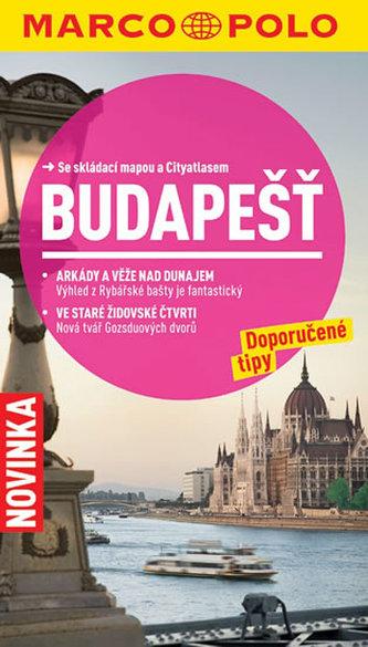 Budapešť/cestovní průvodce s mapou    MD