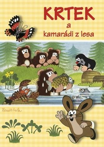 Krtek a kamarádi z lesa - Omalovánky A4