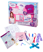 Violetta Tvořivá sada na textil s doplňky v krabičce
