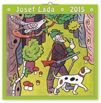 Josef Lada V lese - nástěnný kalendář 2015