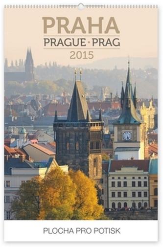 Praha Praktik - nástěnný kalendář 2015