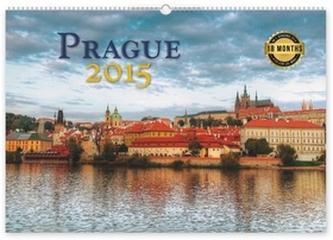 Praha 18měsíční - nástěnný kalendář 2015